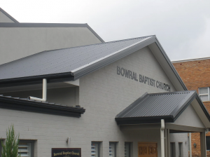 Sunday Morning @ Bowral Baptist Church  | Bowral | New South Wales | Australia