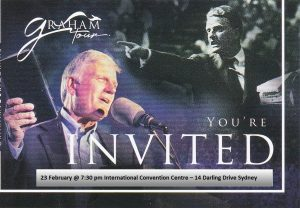 Franklin Graham Tour!